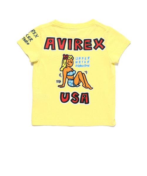 676ef6ab48fe8 ... KIDS/ピンナップガールTシャツ/BOXER JUNTARO/ボクサージュンタロー ...