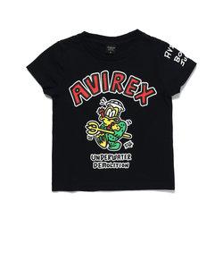 KIDS/フロッグマン Tシャツ/BOXER JUNTARO/ボクサージュンタロー