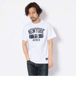 【WEB限定】プリントTシャツ ニューヨーク75/T-SHIRT NEW YORK 75