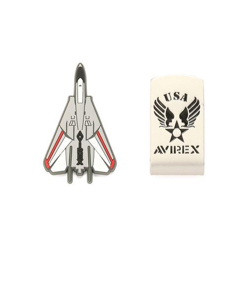 【AVIREX GOLF】マーカー(PVC)