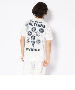 シール チーム Tシャツ/SEAL TEAMS PRINT T-SHIRT