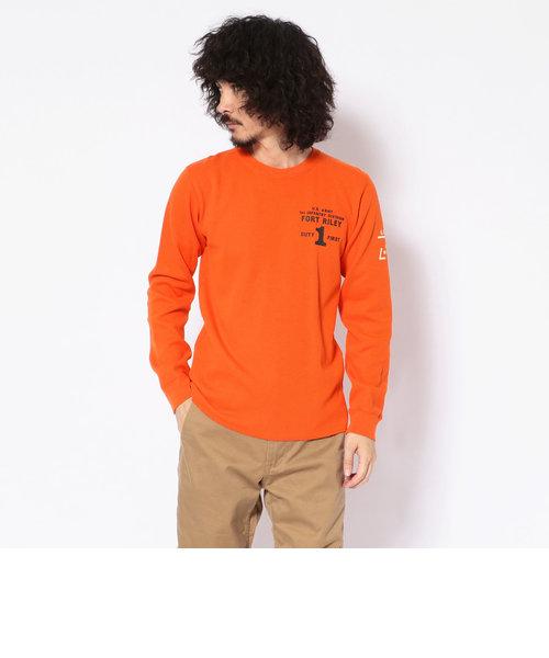 ハニカムワッフル ロングスリーブTシャツ/ HONEYCOMB WAFFLE L/S T-SHIRT