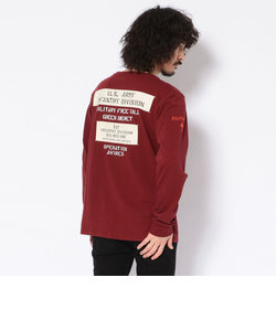 LS WOVEN PATCHED CRE
