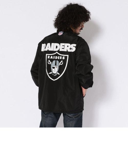 【×NFL】NFL コーチジャケット レイダース/NFL COACH JACKET RAIDERS