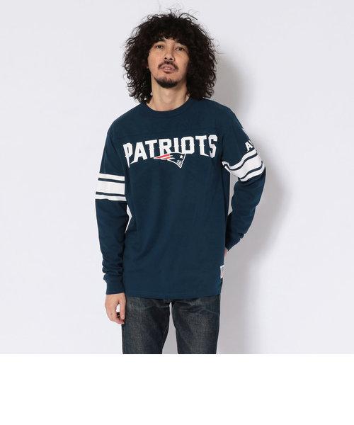 【×NFL】ロングスリーブ Tシャツ  ペイトリオッツ/NFL FOOTBALL T-SHIRT NEW ENGLAND PATRIOTS