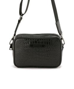 【WEB&DEPOT限定】ミニショルダーバッグ クロコダイル型押し/MINI SHOULDER BAG