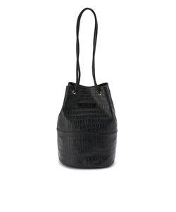 【直営店限定】クロコ型押しショルダーバック/ LETHER SHOULDER BAG