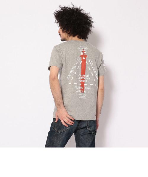 ブラックプロジェクト U.S.A.F.Tシャツ/BLACK PROJECT U.S.A.F. T-SHIRT/B-2