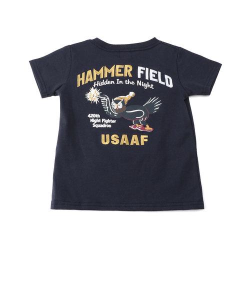 【キッズ】刺繍Tシャツ ハマーフィールド/EMBROIDERED T-SHIRT