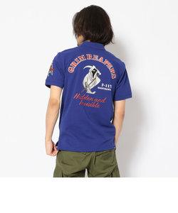 刺繍ポロシャツ Sグリムリーパーズ/S/S EMBROIDERED POLO SHIRT GRIM REAPERS
