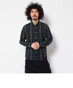 【直営店限定】コットンリネン チェックシャツ/COTTON LINEN CHECK SHIRT