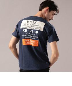 シーチング ワッペン SR-71 Tシャツ/SHEETING WAPPEN SR-71 T-SHIRT
