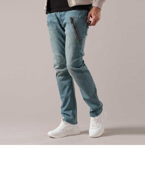TYPE BLUE/7ポケット ストレッチ デニム パンツ/7POCKET STRECH DENIM PANT