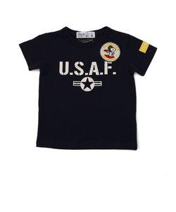 【KID'S】×ピーナッツ スヌーピー U.S.A.F. Tシャツ/AVIREX×PEANUTS U.S.A.F T-SHIRT/キッズ
