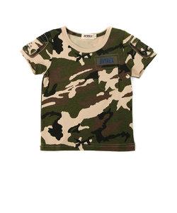 キッズ 迷彩 ファティーグTシャツ/KIDS FATIGUE T-SHIRT