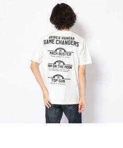 ゲーム チェンジャース Tシャツ/GAME CHANGERS T-SHIRT/HANGAR