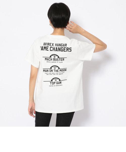 ゲームチェンジャーズ Tシャツ/GAME CHANGERS T-SHIRT/HANGAR