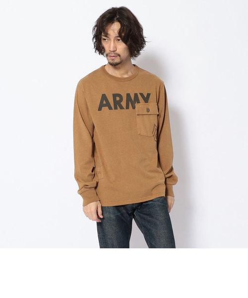 コンビネーション アーミーTシャツ/COMBINATION ARMY L/S T-SHIRT