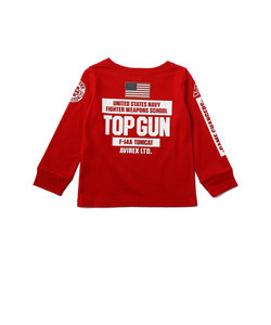 【Kid's/キッズ】ロングスリーブ トップガン Tシャツ/ L/S TOP GUN T-SHIRT