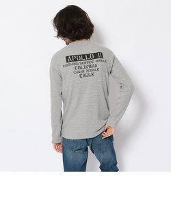 ミニワッフル クルーネックTシャツ/LS MINI WAFFLE CREW NECK T-SHIRT
