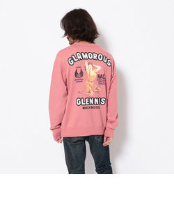 クルーネックスウェット グラマラス グレニス/SWEAT GLAMOROUS GLENNIS