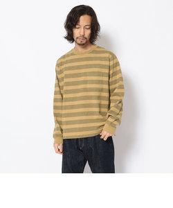 【直営店限定】ボーダー Tシャツ/DS L/S BORDER T-SHIRT