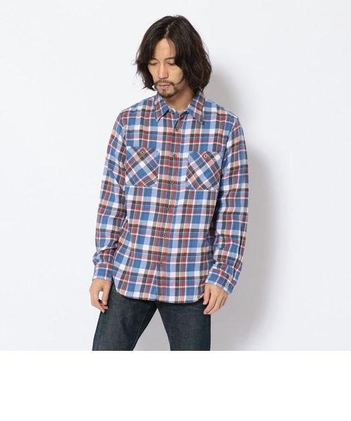 コットン ビエラ ワークシャツ【DAILY/デイリー】/COTTON WORK SHIRT