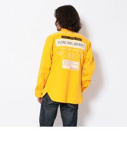 SH シーチング ワッペンシャツ/SHEETING WAPPEN SHIRT