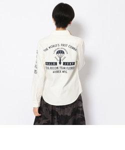 SH/ エンブロイダリーシャツ/ EMBROIDERY SHIRT HALO