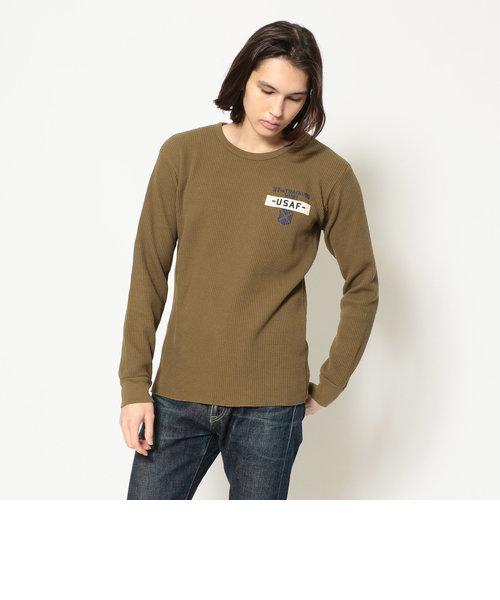 ビッグワッフル Tシャツ/L/S BIG WAFFLE T-SHIRT