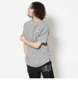 ルーズフィット ラウンド ボトムTシャツ/ LOOSE FIT ROUND BOTTOM T-SHIRT