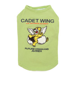 【DOG WEAR/ドッグウェア】エンブロイダリー刺繍 Tシャツ カデットウィング/ EMBROIDERY T-SHIRT CADET