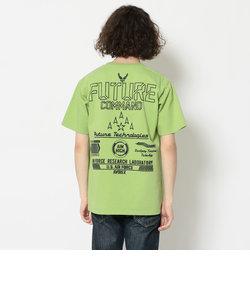 刺繍Tシャツ フューチャーコマンド/S/S EMB TEE