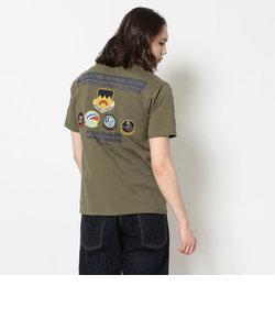 パッチドTシャツ 第306爆撃群/ S/S PATCHED T-SHIRT 306th FLYING TRAINING GROUP/AVIREX