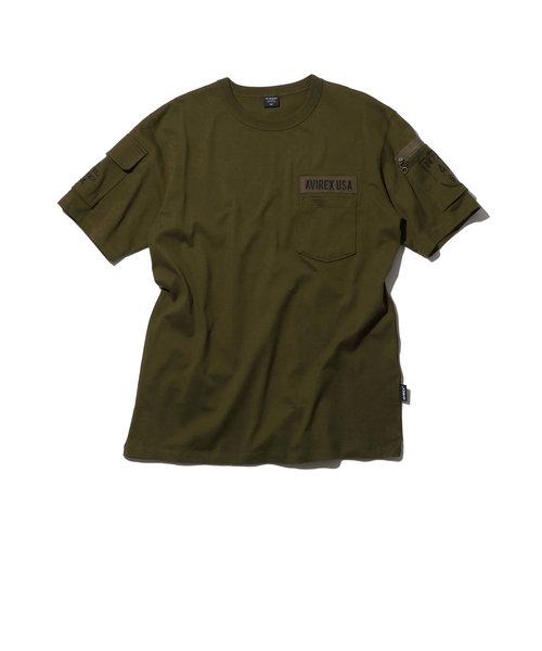 ファティーグ Tシャツ/SS FATIGUE T-SHIRT/アヴィレックス/AVIREX