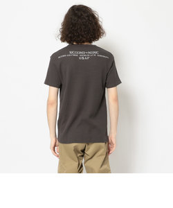 2nd エアフォース ミニワッフル Tシャツ/2nd AIRFORCE MINI WAFFLE T-SHIRT