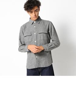SC: SHIPS(シップス) サキソニー/ウール CPOシャツ