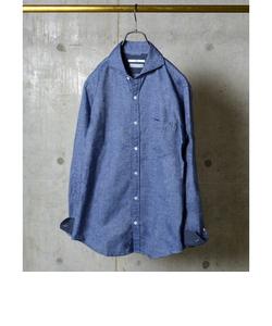 SC: 16FW ペルヴィアン ピマ/ネル セミワイドカラー シャツ