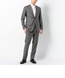 """SD: 【ハンドライン】 """"LORO PIANA ウール&シルク"""" 2つボタン ノープリーツ スーツ"""