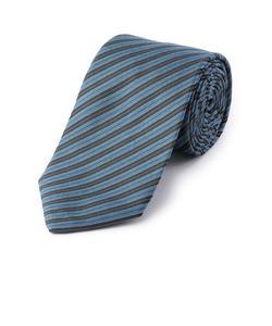 SD:【絹紡糸使用】シルク ストライプ ネクタイ