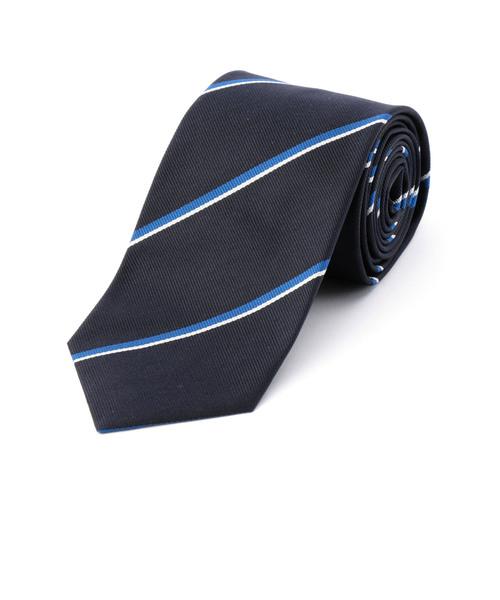 SD: シルク クラシック ストライプ ネクタイ