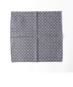 SD: コットン/リネン リバーシブルチェック コモン ポケットチーフ