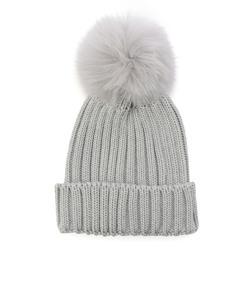 grillo:リブポンポンニット帽