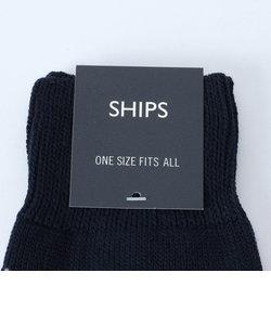 SC: SHIPS(シップス) アーガイル クルーソックス(靴下)