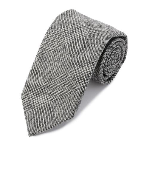 BREUER: ウール グレンチェック ネクタイ