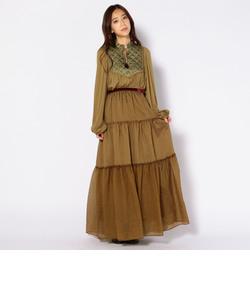 muller of yoshiokubo:【SHIPS別注】ティアードロングスカート