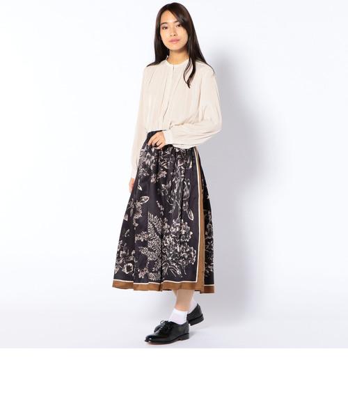 PrimaryNavyLabel:スカーフスカート