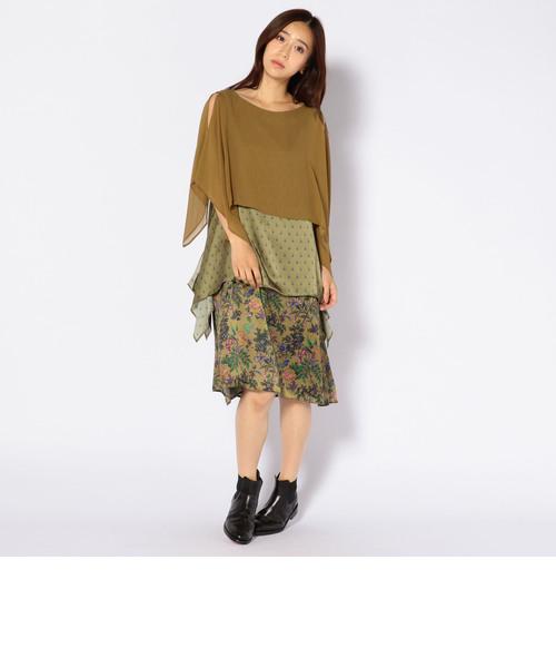 muller of yoshiokubo:【SHIPS別注】レイヤードドレス