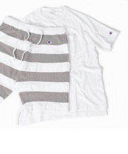 Champion×SHIPS: 別注 セットアップ パイル Tシャツ×ショーツ