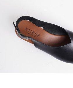 ENESS:Vカットウエッジサンダル◇
